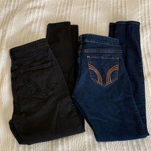 Bundle of 2 hollister jeans size: 7